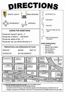 giving directions maths worksheets 11734 directions free esl worksheets repinned by chesapeake college ed we offer free classes