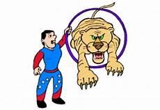 Ausmalbilder Zirkus Tiger Kostenlose Malvorlagen Zirkus