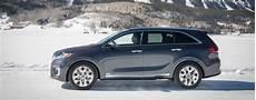 2019 Kia Sorento Trim Levels by 2019 Kia Sorento Trim Level Sx Driving Through Snow Matt