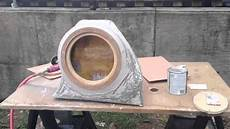 fiat 500 abarth custom subwoofer box fiberglass youtube