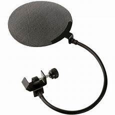 Studio Microphone Pop Filter Wind Screen Metal Ebay