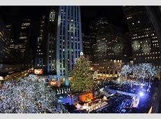rockefeller center tree lighting schedule