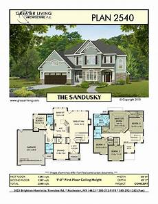 sims 2 house floor plans plan 2540 the sandusky house plans two story house