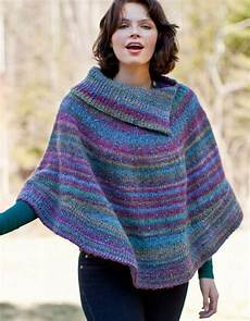 Knitted Poncho Patterns With Tutorial For Beginners