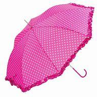 Umbrella with Pink Polka Dots