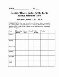 earth science lab practical worksheets 13334 earth science reference table review packet with key earth science earth science