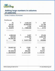 maths addition and subtraction worksheets for grade 5 grade 5 addition subtraction worksheets free