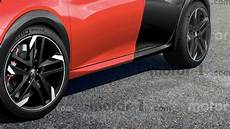 Rendering Gibt Ausblick Auf Den Peugeot 208 Gti 2020