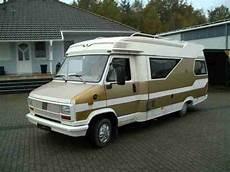 Hobby 600 Fiat 125000 Km Bj 1985 Wohnwagen Wohnmobile