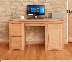 oak home office furniture baumhaus roscoe contemporary oak home office desk casamo