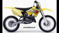 Suzuki Rm 125 - evolution of suzuki rm 125 from 1973 to 2008