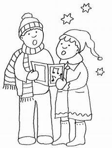 Malvorlagen Weihnachten Lernen Kostenlose Malvorlage Weihnachten Weihnachtssinger Zum
