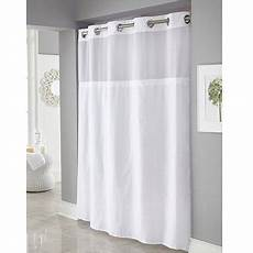 hookless mystery shower curtain hookless white mystery polyester shower curtains walmart