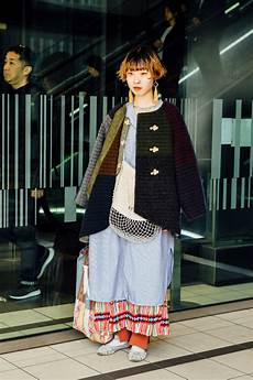 the best street style looks from tokyo fashion week fib