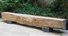 The Beam Bench Made Of Reclaimed Hardwood With Concrete