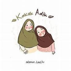 Gambar Kartun Kakak Perempuan Dan Adik Perempuan