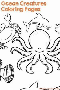 Malvorlagen Unterwasser Tiere Jungkook Creatures Coloring Pages Coloring Pages