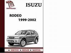car repair manuals online free 2002 isuzu rodeo sport spare parts catalogs isuzu rodeo 1999 2000 2001 2002 rodeo sport 2001 2002 workshop serv