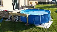 habillage piscine hors sol intex 70446 habillage piscine autoport 233 intex piscines plages