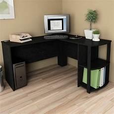l shaped corner desk computer workstation home office executive work table ebay