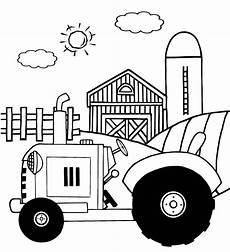 Einfache Ausmalbilder Traktor Malvorlagen Fur Kinder Ausmalbilder Traktor Kostenlos