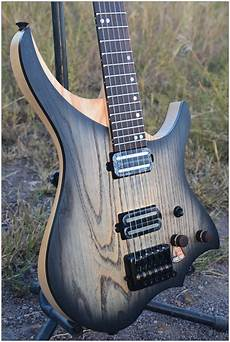 steinberger headless guitar nk headless electric guitar steinberger style model black burst color maple neck in stock