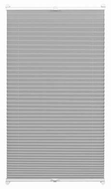plissee 80 x 130 easyfix plissee cara grau 80 x 130 cm 32703