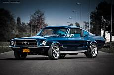 American Cars Mustang Wallpaper Blue 1967 Fastback By Americanmuscle On Deviantart