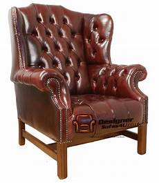fauteuil à oreilles chesterfield churchill fireside high back wing chair