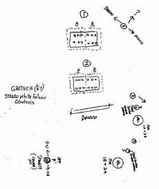 gretsch white falcon wiring diagram wirind misc