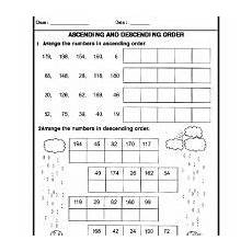 writing numbers in ascending and descending order worksheets 21206 numbers ascending descending order math addition worksheets math workbook math worksheets