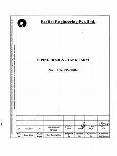 tank farm piping layout pdf piping design tank farm pump petroleum