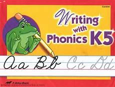 abeka cursive handwriting worksheets 21966 writing with phonics k5 cursive exodus books