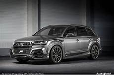 the new audi q7 upgraded by abt audiworld