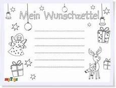 Malvorlagen Weihnachten Wunschzettel Wunschzettel Weihnachten Zum Ausmalen Weihnachtsmotiv