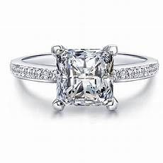 fine princess cut created diamond solid real 925 sterling