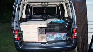 Camper Box  Citroen Berlingo Boot Camping Trip