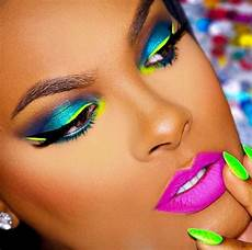 Makeup Looks Neon