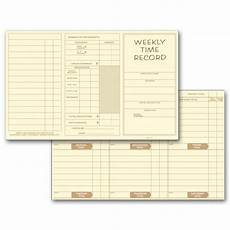 weekly employee time cards 220 at print ez