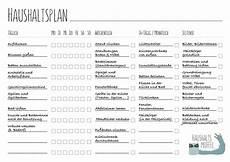 aufgaben im haushalt liste haushaltsplan mit vorlage zum haushaltsplaner