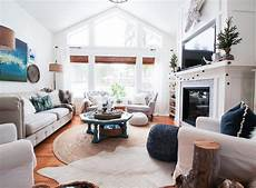 friday s finds swing arm floor ls and our winter living room the happy housie