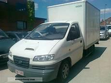 Hyundai H1 2 5 Td Engine Problem 2005