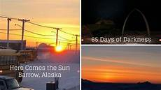 barrow alaska here comes the sun 2018 65 days of
