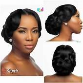 African American Wedding Hair Style  Zambian Weddings