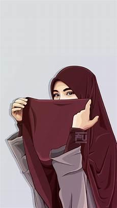 Wallpaper Kartun Muslimah Offline Terbaru For Android