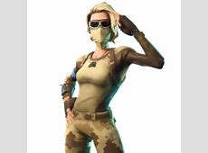 Scorpion   Fortnite Skin   Female Desert Combat Outfit