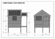 plans for cubby houses cubby house play house build one with your children