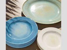 Reactive Glaze Melamine Dinnerware, Set of 4   Stone