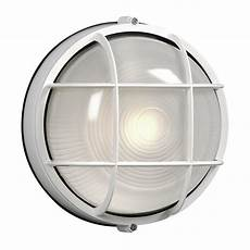 shop galaxy marine 10 25 in h white outdoor wall light at lowes com