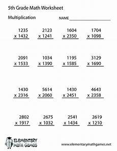 5th grade math worksheet division free math worksheets for 5th grade 5th grade math